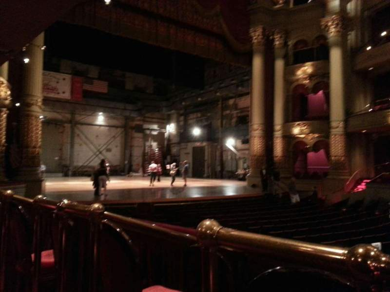 Seating view for Academy of Music Section Parquet Circle H Row t Seat 29