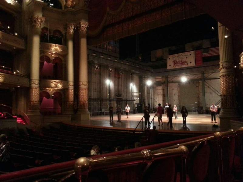 Academy of Music, section: Parquet Circle B, row: t, seat: 32