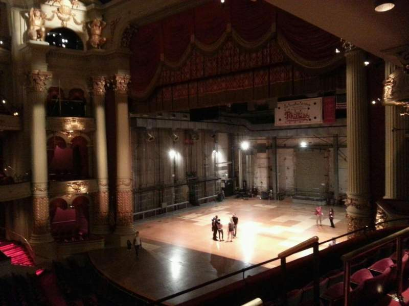 Seating view for Academy of Music Section balcony b Row b Seat 48