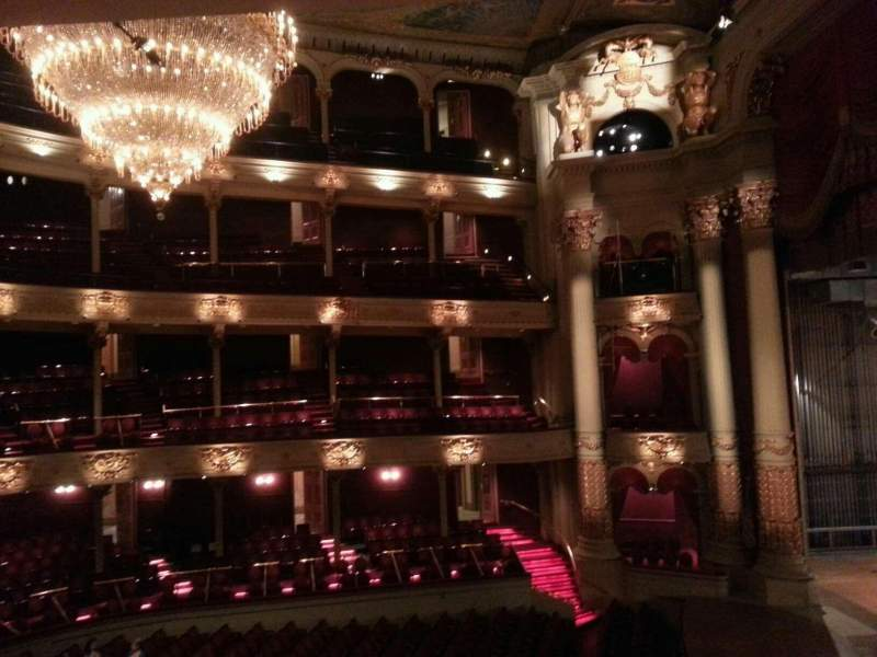 Seating view for Academy of Music Section balcony a Row b Seat 62
