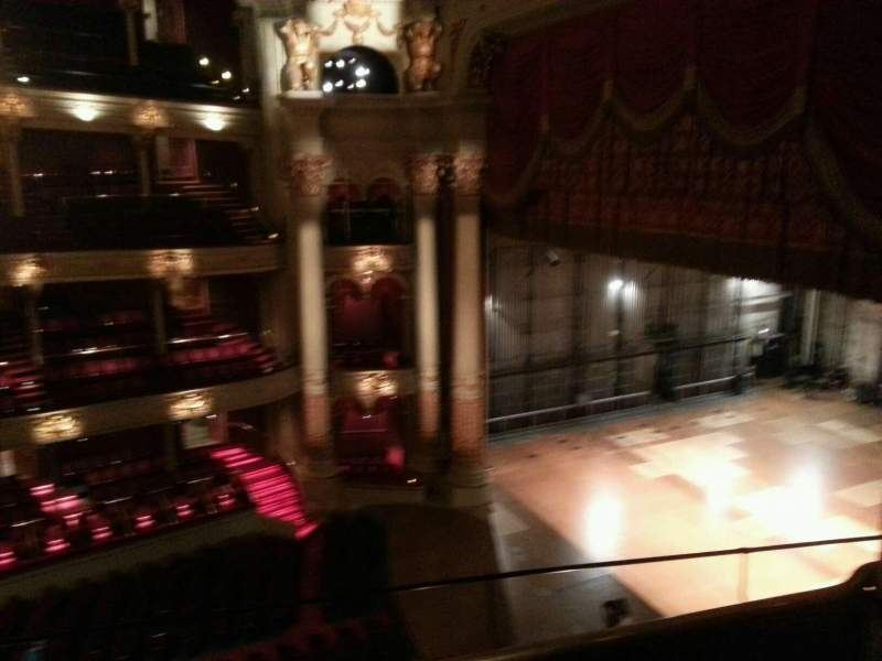 Seating view for Academy of Music Section family circle a Row d Seat 64