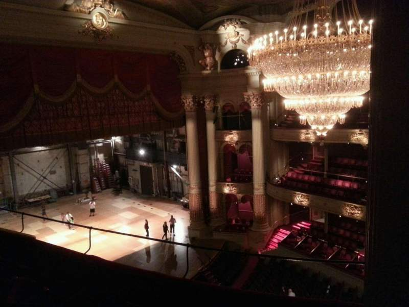 Seating view for Academy of Music Section Family Circle G Row D Seat 35