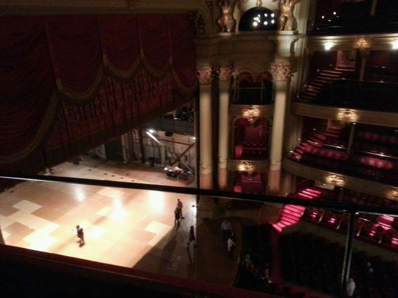 Seating view for Academy of Music Section Amphitheater I Row b Seat 55