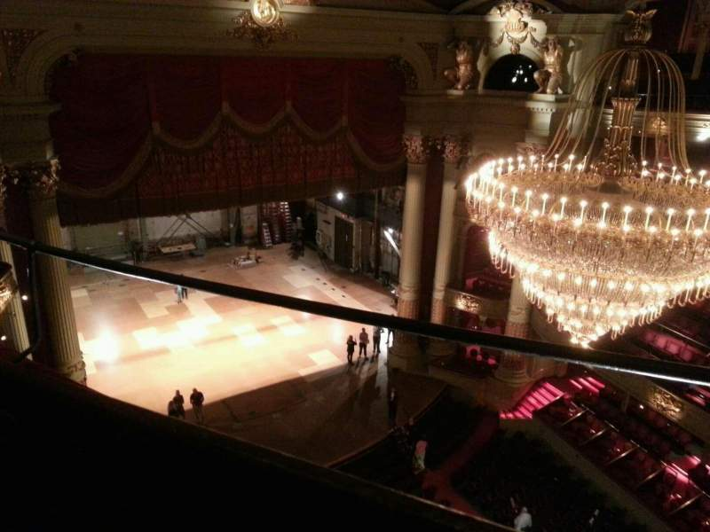 Seating view for Academy of Music Section Amphitheater G Row b Seat 23
