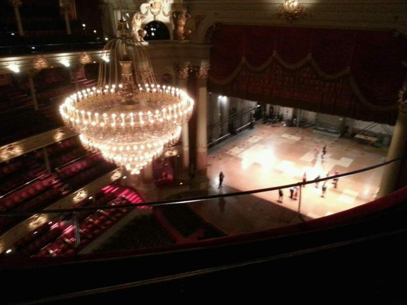 Seating view for Academy of Music Section Amphitheater C Row d Seat 24