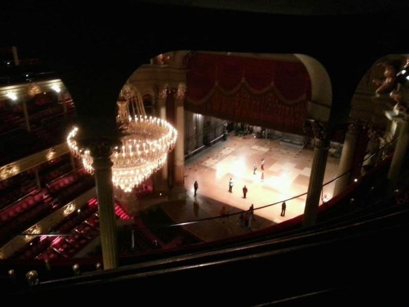 Seating view for Academy of Music Section Amphitheater C Row G Seat 28
