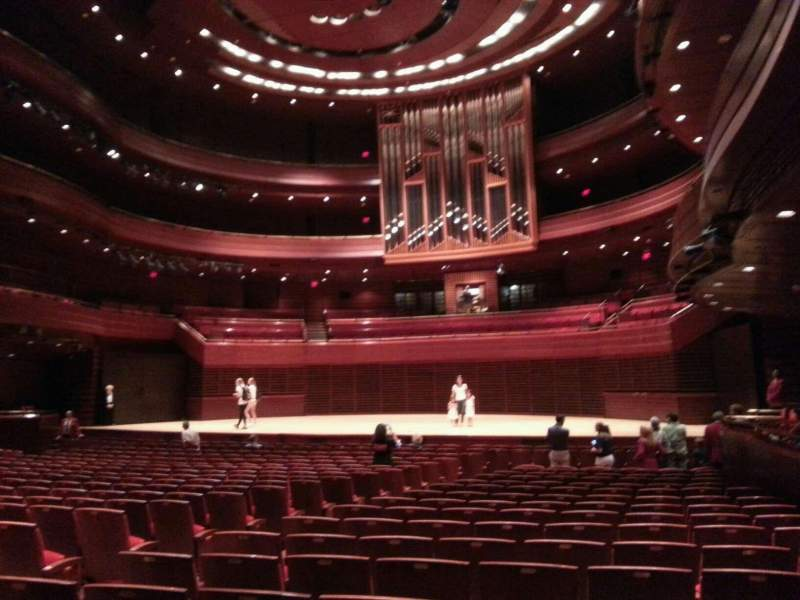 Seating view for Verizon Hall at the Kimmel Center Section orch  Row 10 Seat 6