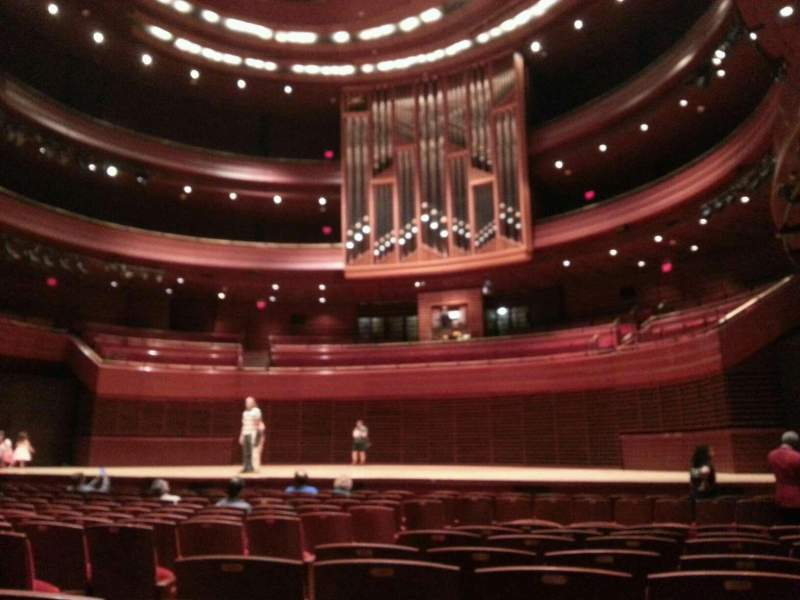 Seating view for Verizon Hall at the Kimmel Center Section orch Row p Seat 8