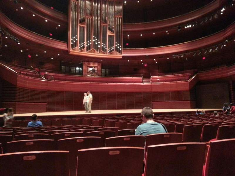 Seating view for Verizon Hall at the Kimmel Center Section orch Row o Seat 7