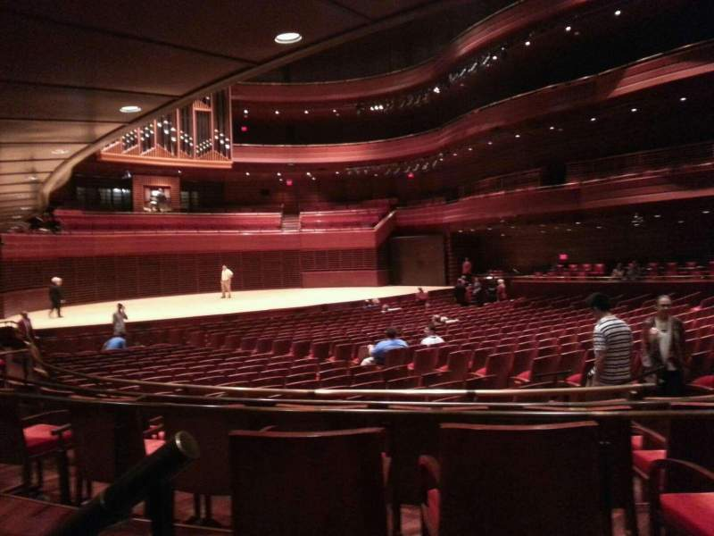 Seating view for Verizon Hall at the Kimmel Center Section Orchestra Box 17 Seat 4