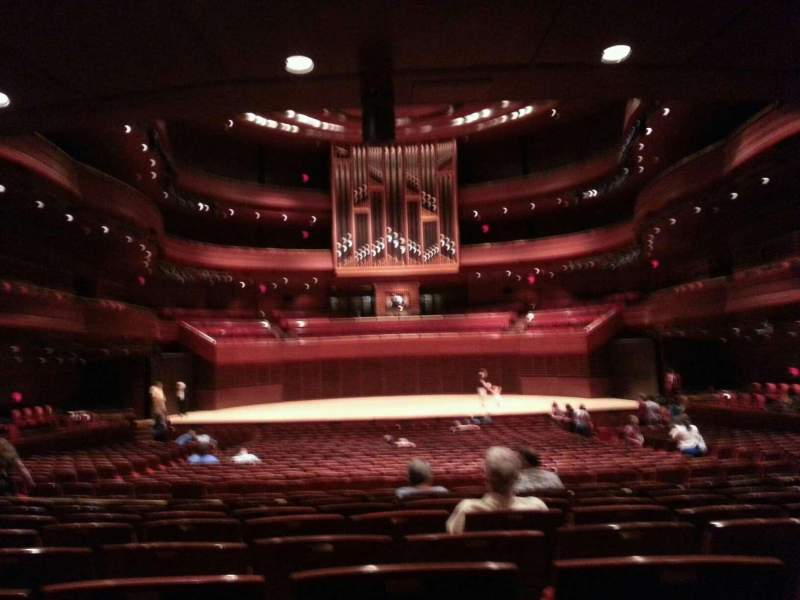 Seating view for Verizon Hall at the Kimmel Center Section orch Row h Seat 116