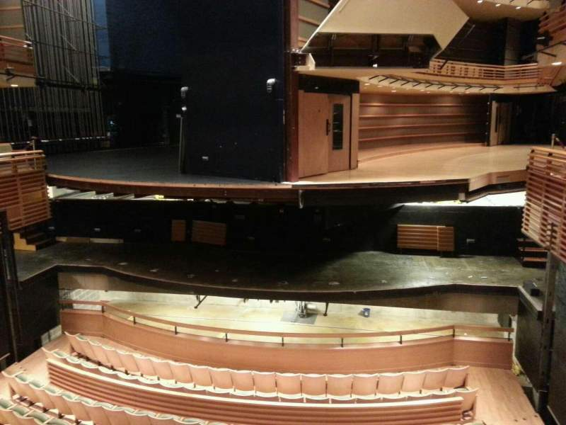 Seating view for Perelman Theater at The Kimmel Center