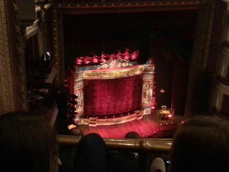 Seating view for CIBC Theatre Section Balcony L Row J Seat 7