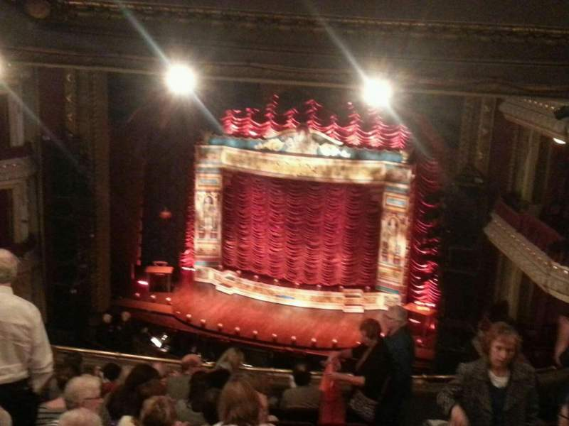 Seating view for PrivateBank Theatre Section Mezzanine R Row k Seat 2