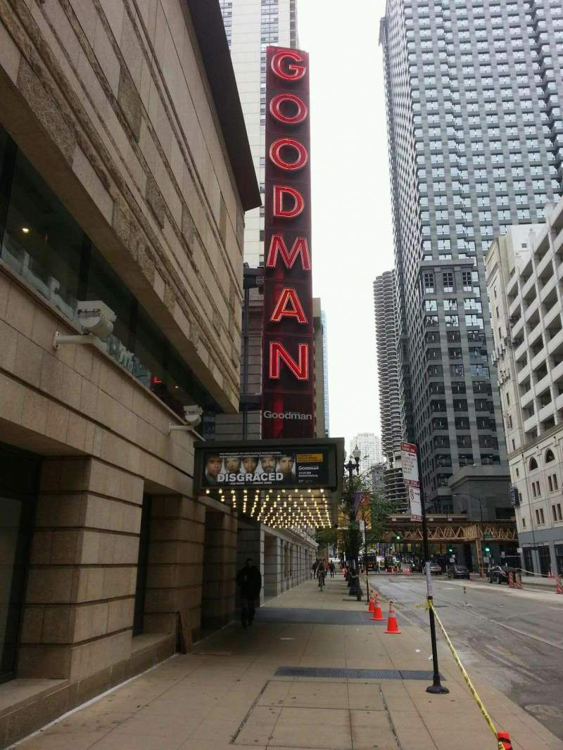 Seating view for Goodman Theatre