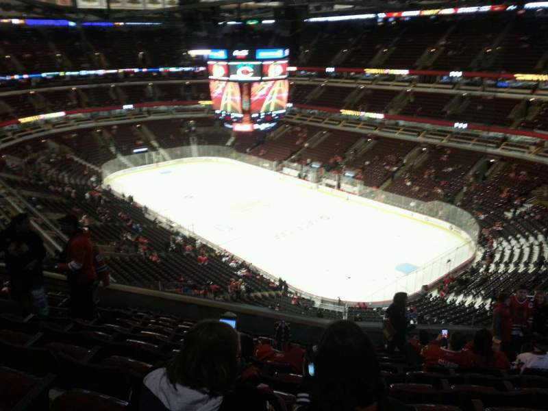 Seating view for United Center Section 313 Row 10 Seat 10
