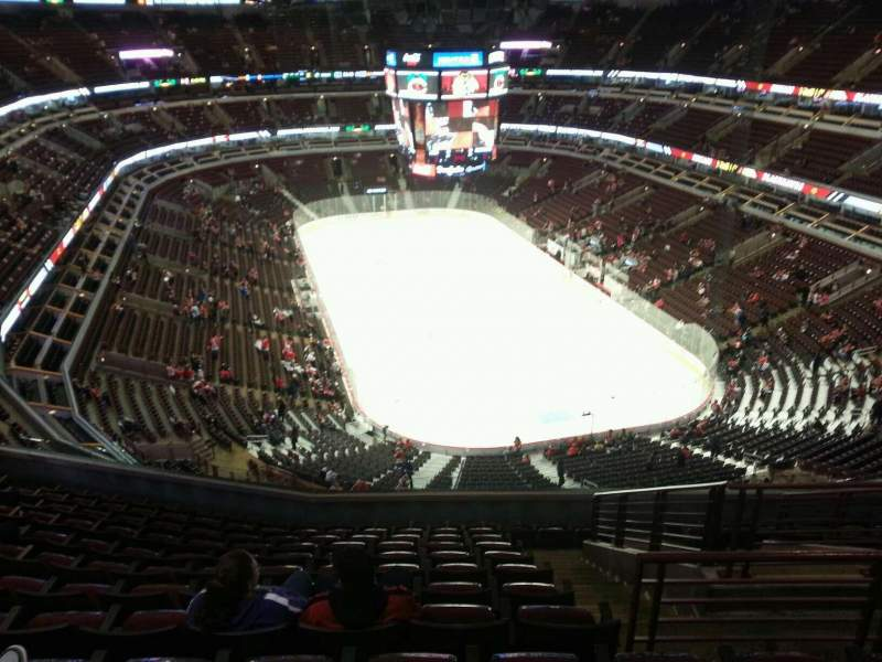 Seating view for United Center Section 311 Row 12 Seat 6