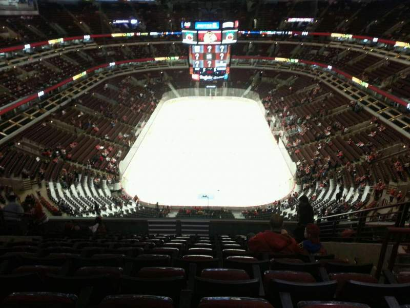 Seating view for United Center Section 309 Row 12 Seat 6