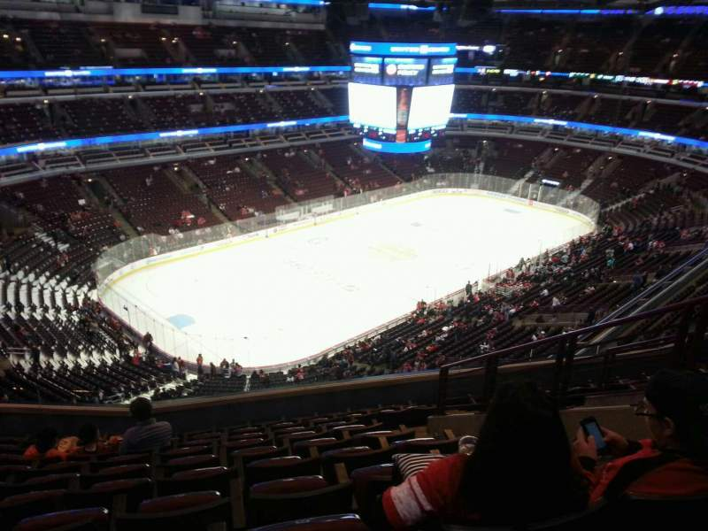 Seating view for United Center Section 305 Row 10 Seat 6