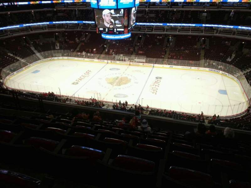 Seating view for United Center Section 333 Row 10 Seat 10
