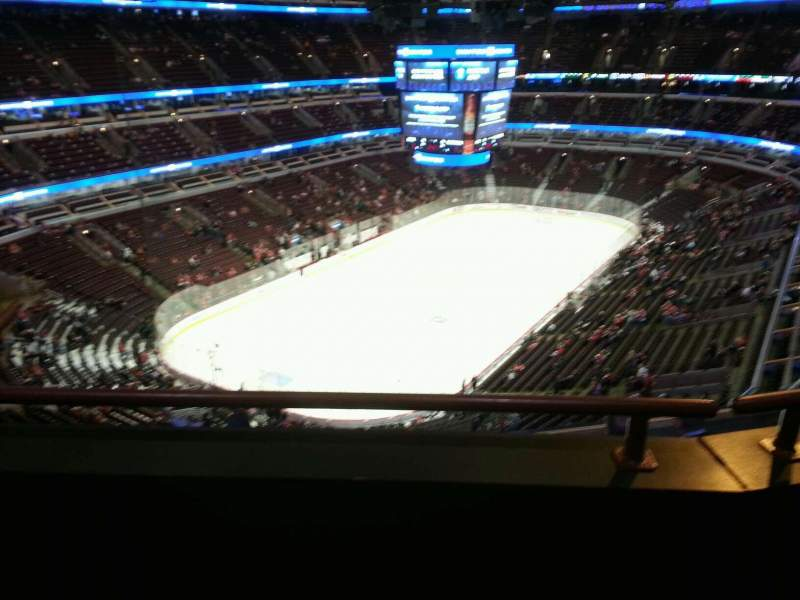 Seating view for United Center Section 321 Row 9 Seat 12