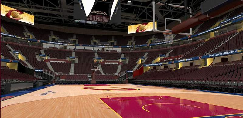 Rocket Mortgage Fieldhouse Section 2 Row Vip Cleveland