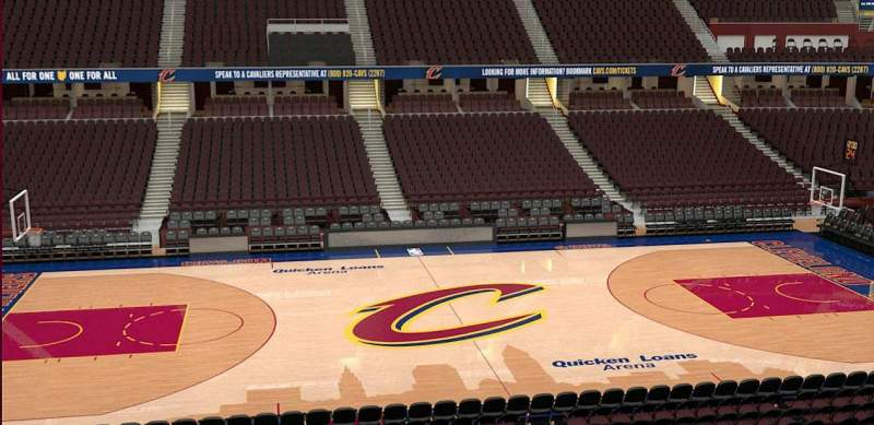 Rocket Mortgage Fieldhouse Section C121 Cleveland Cavaliers