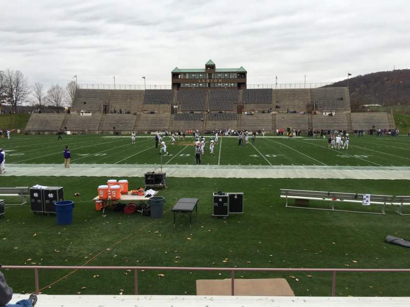 Seating view for Goodman Stadium Section Ef Row 8 Seat 12