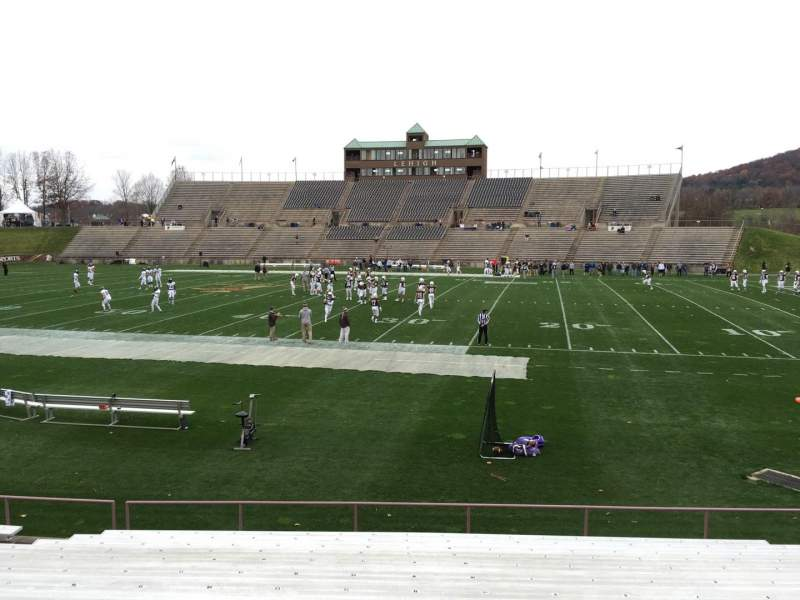 Seating view for Goodman Stadium Section Eh Row 13 Seat 11