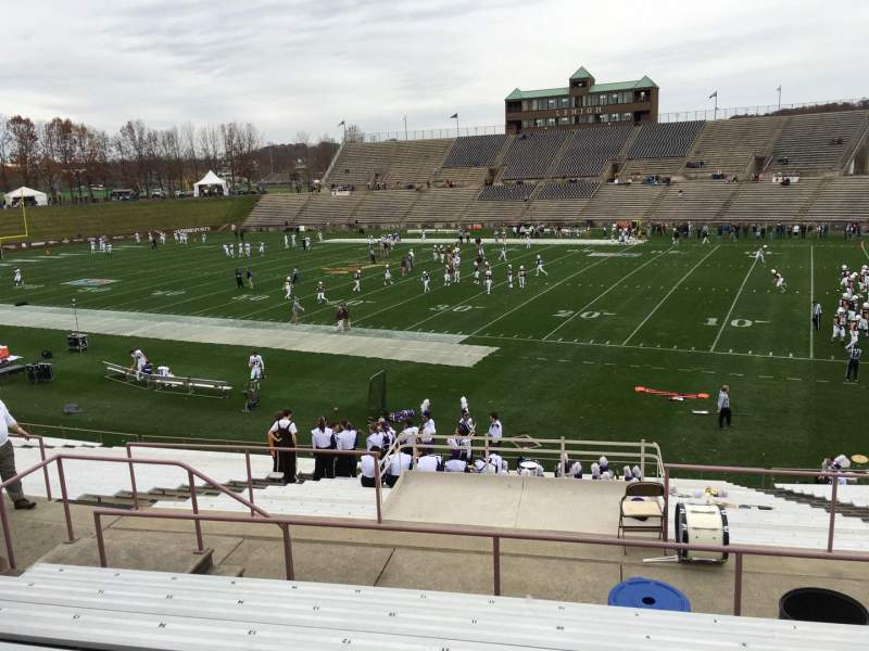 Seating view for Goodman Stadium Section Es Row 7 Seat 10