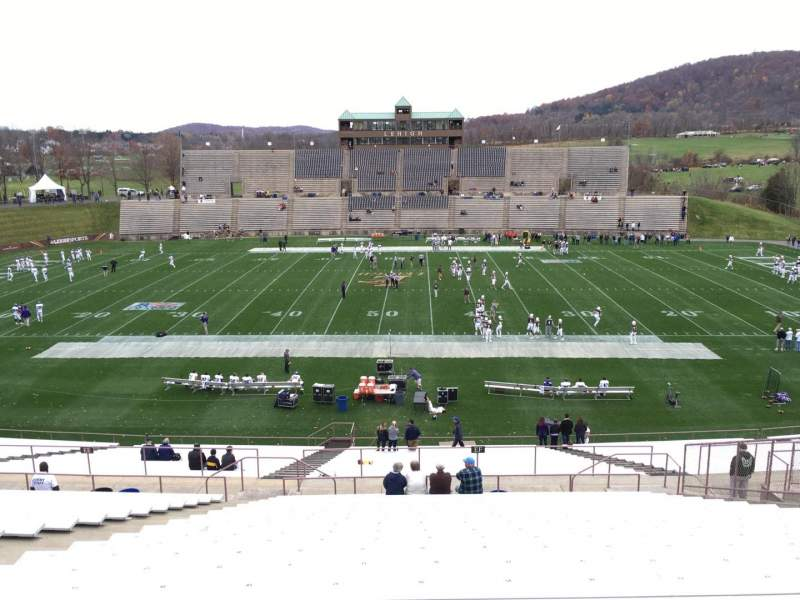 Seating view for Goodman Stadium Section Ep Row 20 Seat 16