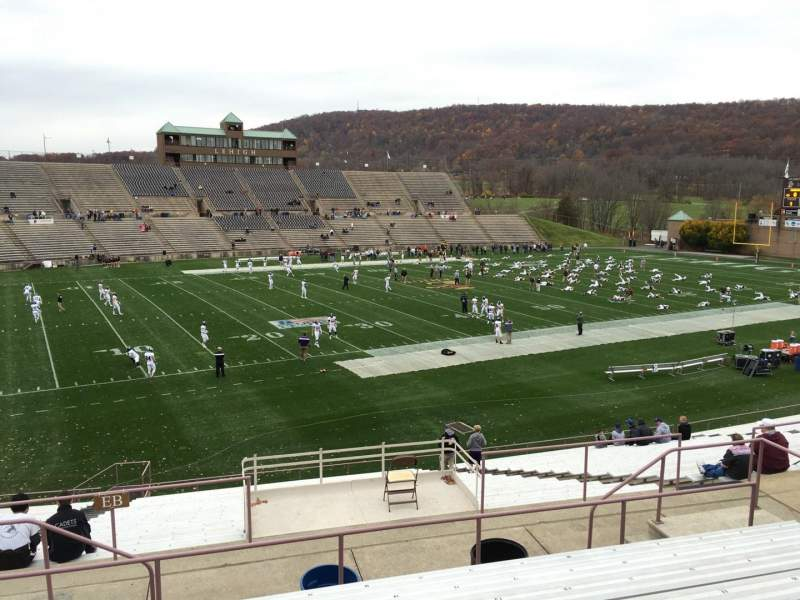 Seating view for Goodman Stadium Section El Row 8 Seat 16