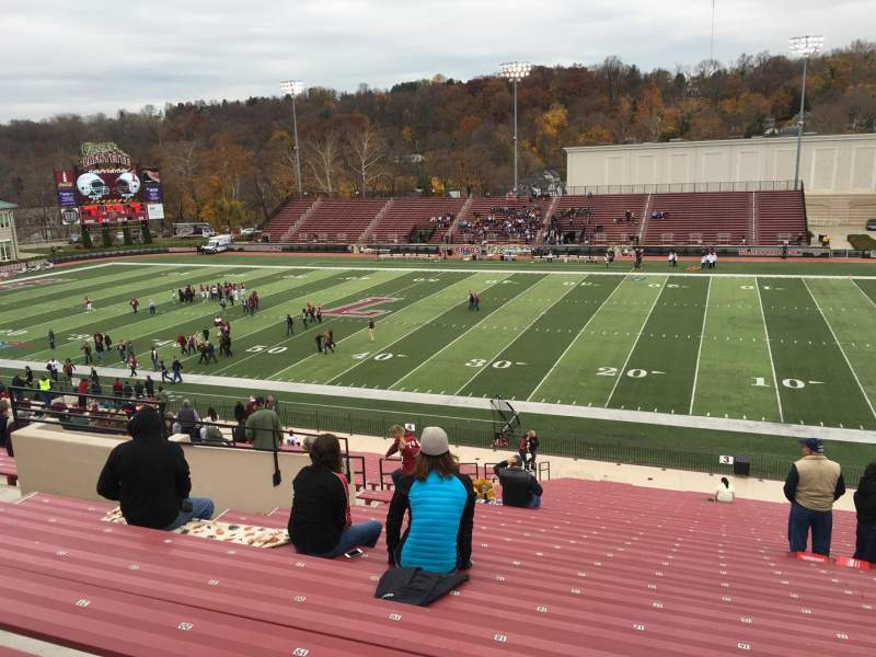 Fisher Stadium, section: 3, row: Ll, seat: 16