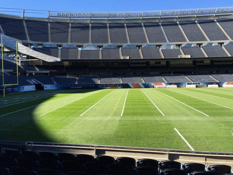 Seating view for Soldier Field Section 112 Row 7 Seat 8