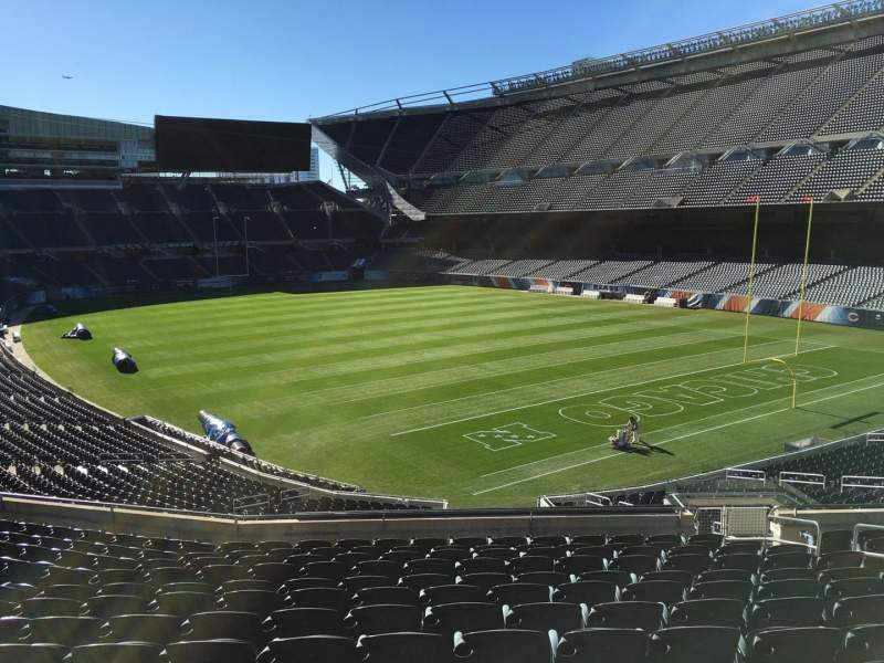 Seating view for Soldier Field Section 256 Row 13 Seat 16