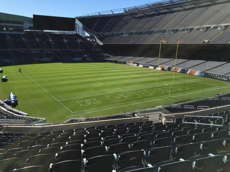 Seating view for Soldier Field Section 255 Row 12 Seat 9
