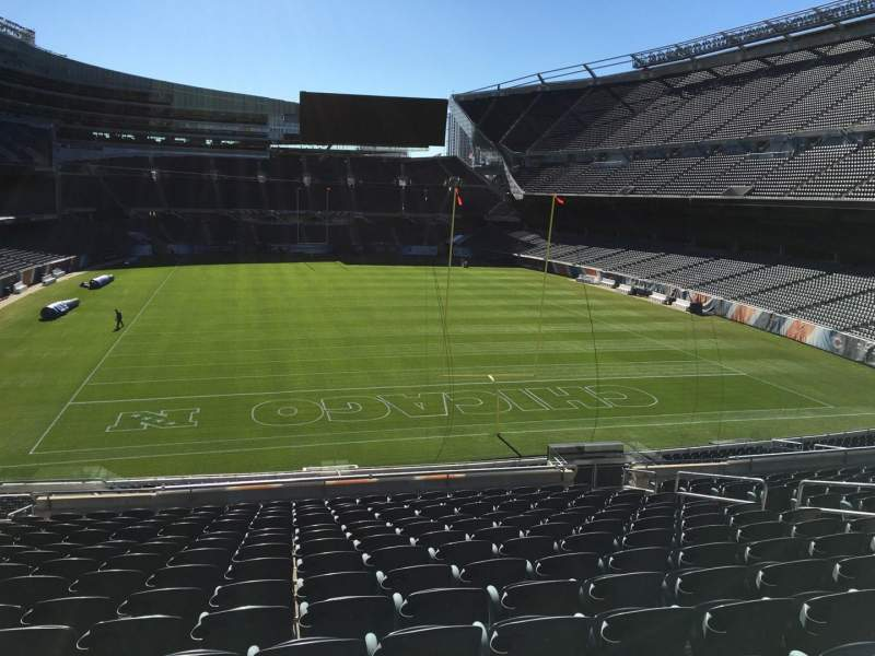 Seating view for Soldier Field Section 253 Row 15 Seat 9