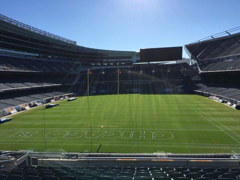 Seating view for Soldier Field Section 251 Row 11 Seat 10