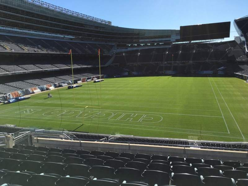 Seating view for Soldier Field Section 250 Row 9 Seat 12
