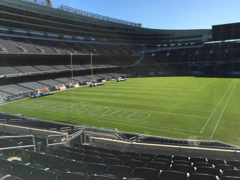 Seating view for Soldier Field Section 249 Row 9 Seat 9