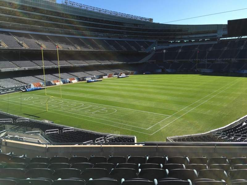 Seating view for Soldier Field Section 248 Row 8 Seat 12