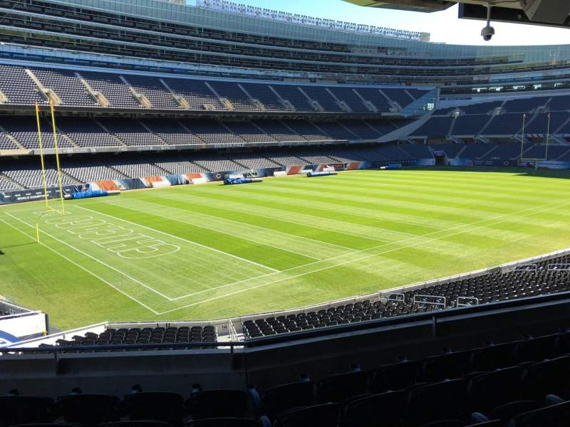 Seating view for Soldier Field Section 244 Row 5 Seat 9
