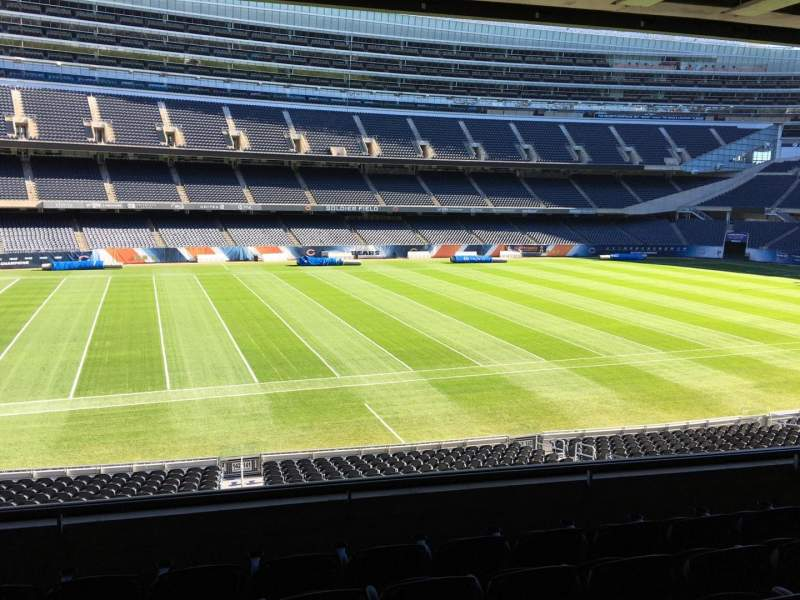 Seating view for Soldier Field Section 241 Row 6 Seat 11