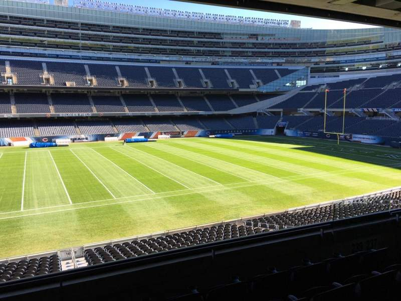 Seating view for Soldier Field Section 239 Row 5 Seat 8