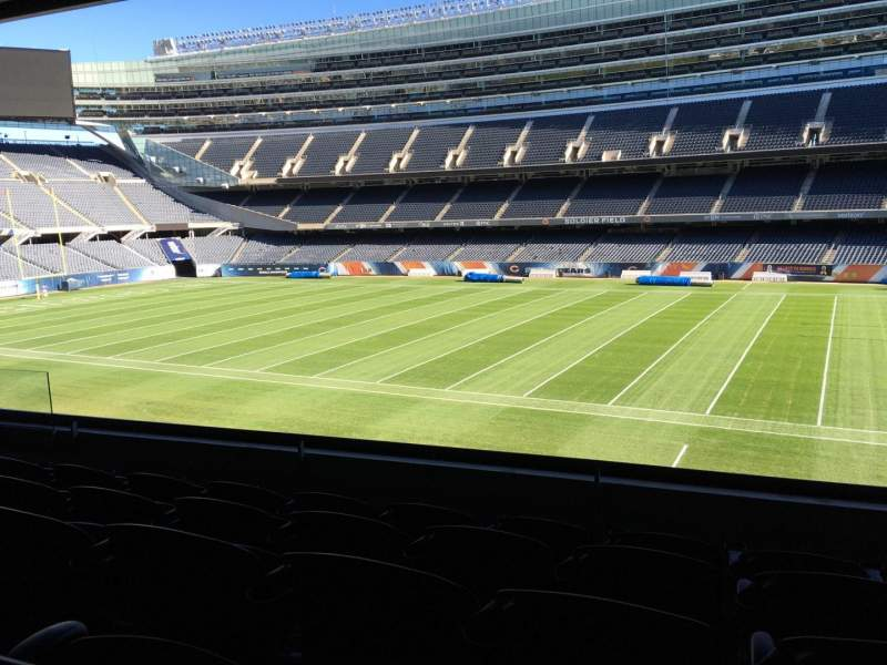 Seating view for Soldier Field Section 233 Row 5 Seat 10