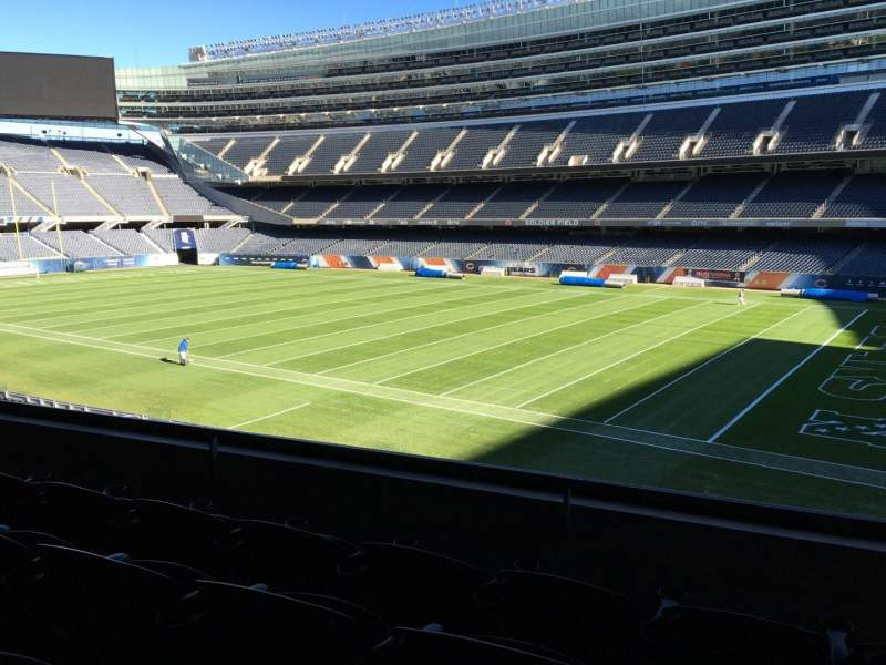 Seating view for Soldier Field Section 231 Row 4 Seat 10