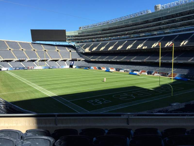 Seating view for Soldier Field Section 226 Row 5 Seat 10