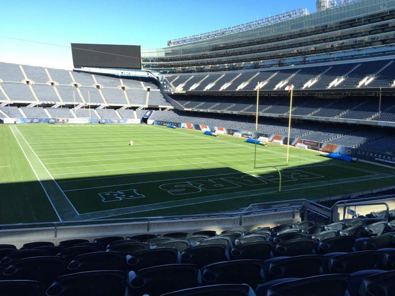 Seating view for Soldier Field Section 225 Row 8 Seat 8