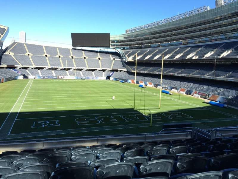 Seating view for Soldier Field Section 224 Row 9 Seat 11