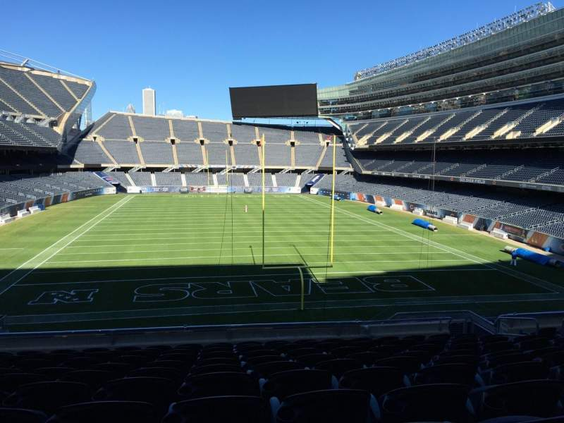 Seating view for Soldier Field Section 223 Row 11 Seat 9